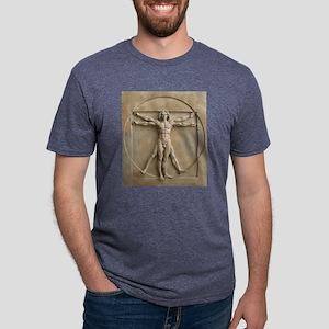 Vitruvian Man relief T-Shirt