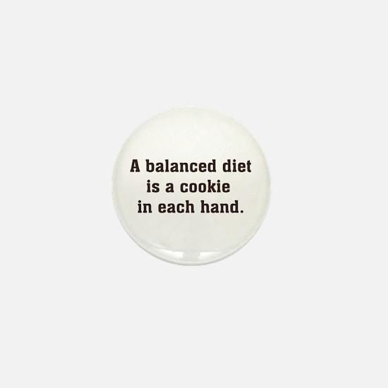 Balanced Diet Mini Button