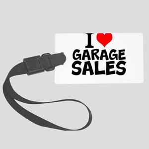 I Love Garage Sales Luggage Tag
