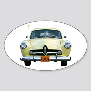 Helaine's Yellow Henry J Oval Sticker