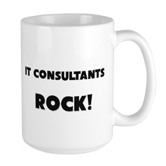 It Consultants ROCK Large Mug