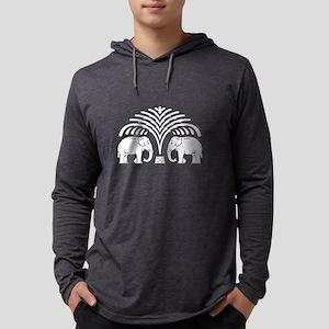 Elephants under Tree Long Sleeve T-Shirt