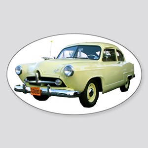 Helaine's Yellow Henry J Too Oval Sticker