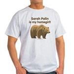 Sarah Palin Homegirl Light T-Shirt