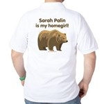 Sarah Palin Homegirl Golf Shirt