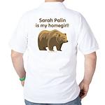 Sarah Palin Homegirl Golf Shirt