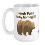 Sarah Palin Homegirl Large Mug