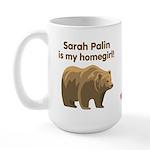 Sarah Palin Homegirl Large Mug