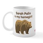 Sarah Palin Homegirl Mug