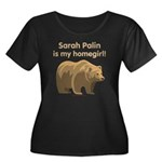 Sarah Palin Homegirl Women's Plus Size Scoop Neck