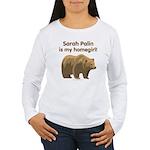 Sarah Palin Homegirl Women's Long Sleeve T-Shirt
