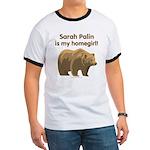 Sarah Palin Homegirl Ringer T
