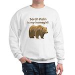 Sarah Palin Homegirl Sweatshirt