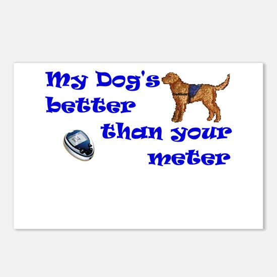 My Dog's Better... Postcards (Package of 8)