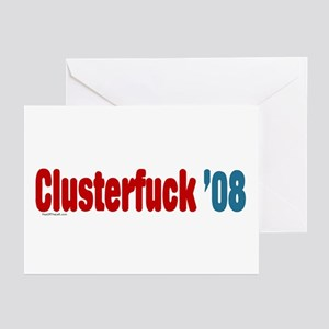 Clusterfuck '08 Greeting Cards (Pk of 10)