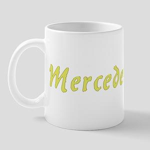 Mercedes in Gold - Mug