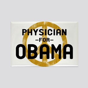 Physician for Obama Rectangle Magnet