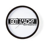 GOt Mach Wall Clock