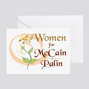 Women for McCain Palin Greeting Cards (Pk of 10)