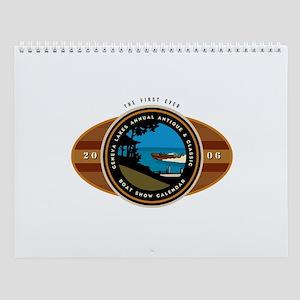 Lake Geneva Classic Boats Wall Calendar