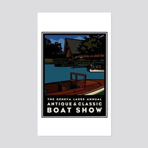 2007 Lake Geneva Classic Boat Show Sticker