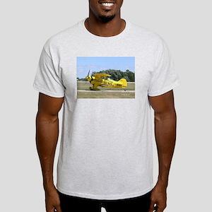 Yellow Pitts Ash Grey T-Shirt