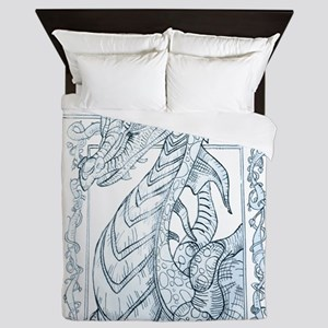 The angry dragon Queen Duvet