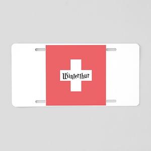 Winterthur Aluminum License Plate
