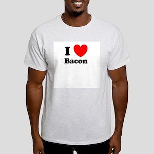 I Love Bacon Light T-Shirt