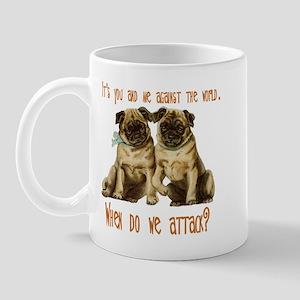 Attack Pugs Mug