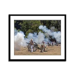 Canon Fire 1 Framed Panel Print