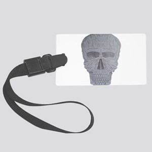The withered skull Luggage Tag