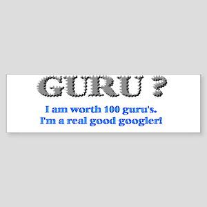 Googler Guru Bumper Sticker