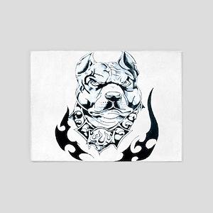 The hellhound 5'x7'Area Rug