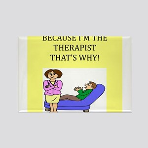 therapist gifts t-shirts Rectangle Magnet