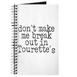 Tourette's Journal