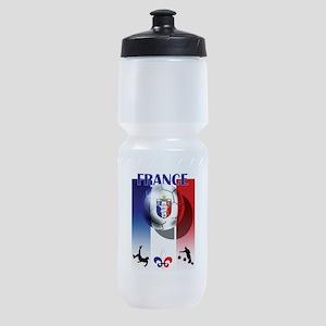 France Football Sports Bottle