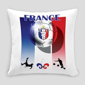 France Football Everyday Pillow