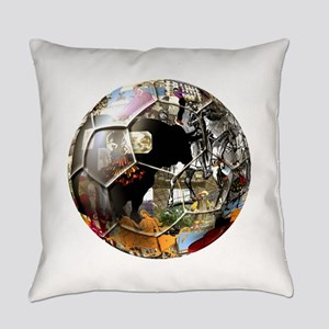 Spanish Culture Football Everyday Pillow