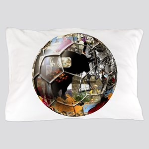 Spanish Culture Football Pillow Case