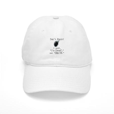 """I'm """"Deaf"""" Not """"Death."""" Cap"""