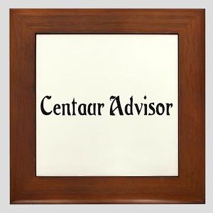 Centaur Advisor Framed Tile