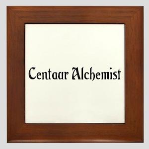 Centaur Alchemist Framed Tile