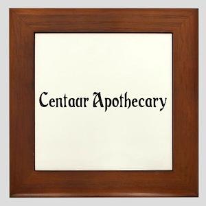 Centaur Apothecary Framed Tile