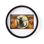 Halloween Omens Wall Clock