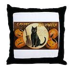 Halloween Omens Throw Pillow