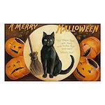 Halloween Omens Rectangle Sticker 50 pk)