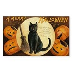 Halloween Omens Rectangle Sticker 10 pk)