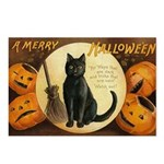 Halloween Omens Postcards (Package of 8)
