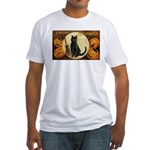 Halloween Omens Fitted T-Shirt